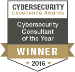 Cybersecurity Excellence Awards - Consultant of the Year 2016