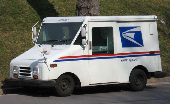 USPS car