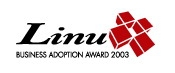 Linux Business Adoption Award 2003 Grand Award