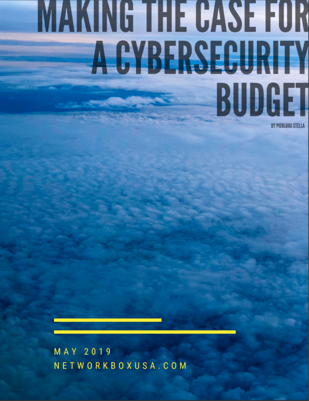 Making a case for a cybersecurity budget